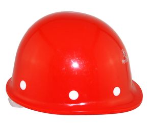 China cheap PE safety helmet with chin strap