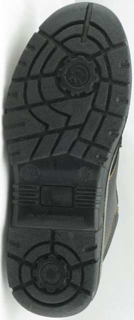 PU injection safety boots