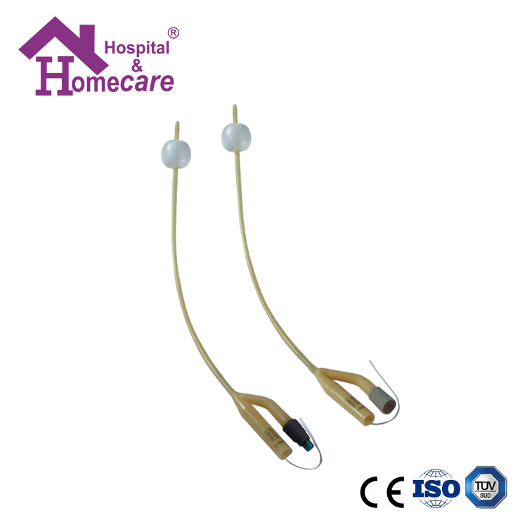 HK05a Latex Foley Catheter Silicone Coated 2-Way Pediatric