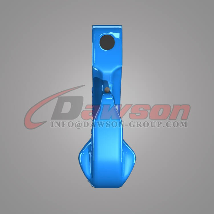 Grade 100 Special Clevis Grab Hook with Safety Pin, G100 Clevis Hook for Chains - China Factory, Supplier - Dawson Group Ltd.