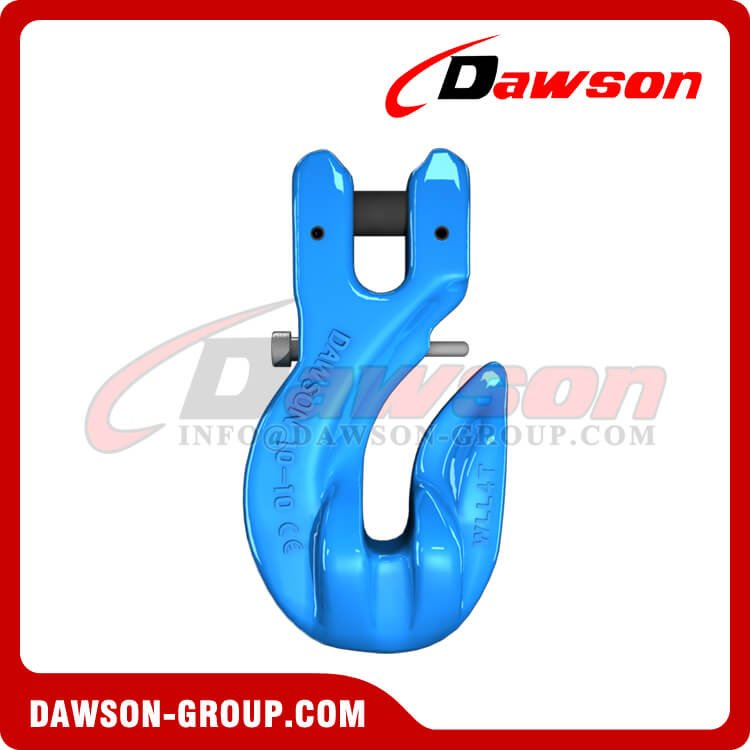 G100 Special Clevis Grab Hook with Safety Pin, Forged Steel Clevis Grab Hook for Chains - China Manufacturer