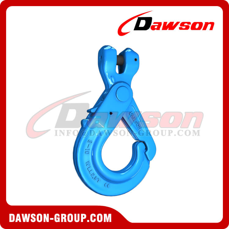 G100 Special Clevis Self-locking Hook with Grip - Dawson Group Ltd. - China Factory, Exporter
