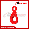 DS081 G80 European Type Eye Selflock Hook for Crane Lifting Chain Slings