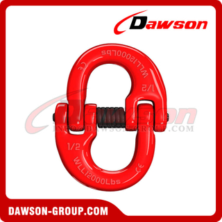 DS076 G80 A337 US. Type Connecting Link for Crane Lifting Chain Slings