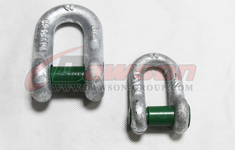 Forged Steel Trawling Dee Shackle with Square Sunken Hole - China Supplier - Dawson Group