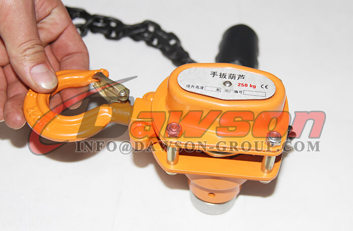 Ratchet Lever Hoist with Overload Protection - China Manufacturer, Supplier