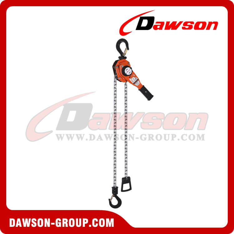 DS-DX 0.75T - 9T Hand Lever Hoist with Lifting Chain