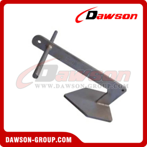 Hot Dipped Galvanized Plough Anchor / H.D.G. Delta Anchor