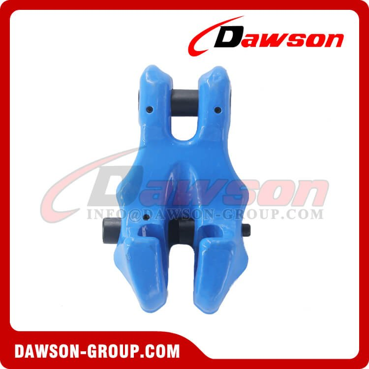 G100 / Grade 100 Forged Alloy Steel Clevis Chain Clutch with Safety Pin for Adjust Chain Length