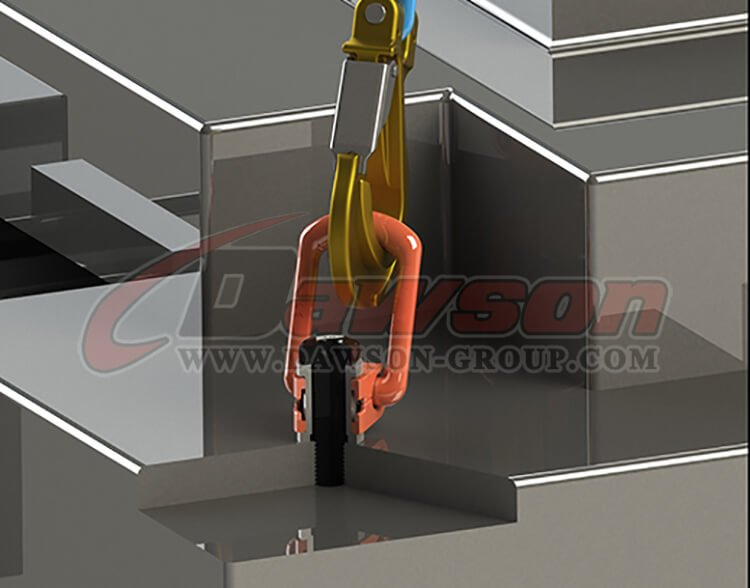 application of DS173 G80 Pivoting Lifting Screw China manufacturer