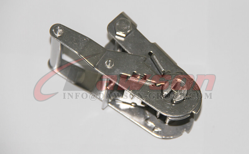 50MM Stainless Steel Ratcheting Buckle, Lashing Buckle - China Exporter