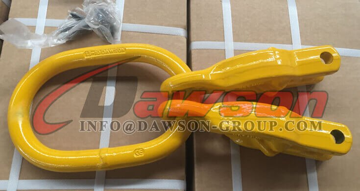 G100 Forged Master Link with 2 Grab Hook - Dawson Group Ltd. - China Factory