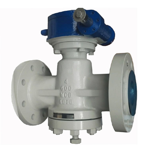Carbon Steel Pressure Balanced Flanged Lubricated Plug Valve