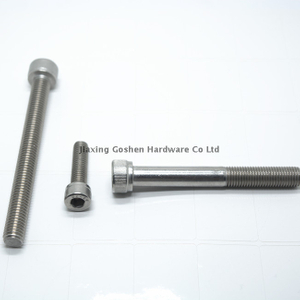 Grade 18-8 stainless steel hex socket head screws