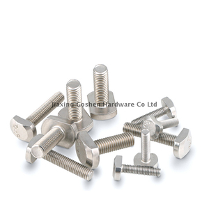 metric m10 stainless steel t head bolts for milling machine