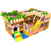 Candy Themed Adventure Soft Kids Indoor Playground Equipment with Trampoline