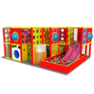 Customized Small Soft Kids Indoor Playground Equipment with Ball Pit