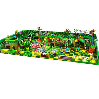 Jungle Theme Entertainment Adventure Indoor Playground for Children