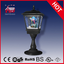 (LT27064K-H) 2016 Christmas Holiday Sparkling LED Table Light with Snow Flakes