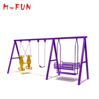 Garden Swings With Child In Sling Seat