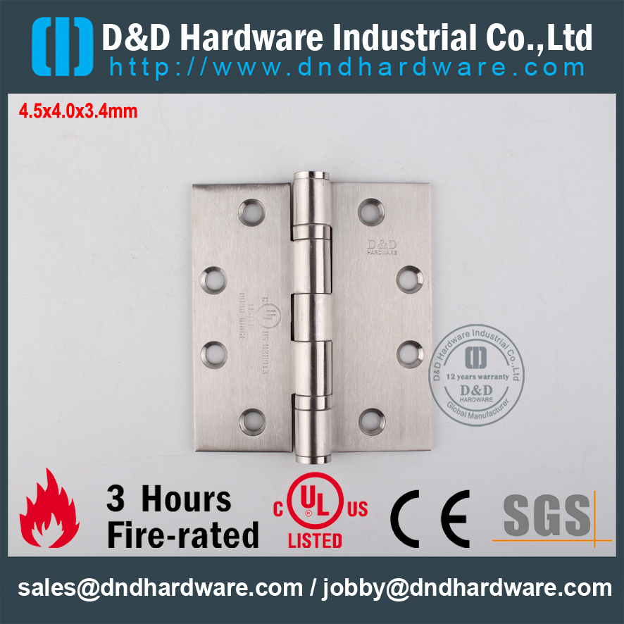 UL Ball Bearing Hinge-D&D Hardware