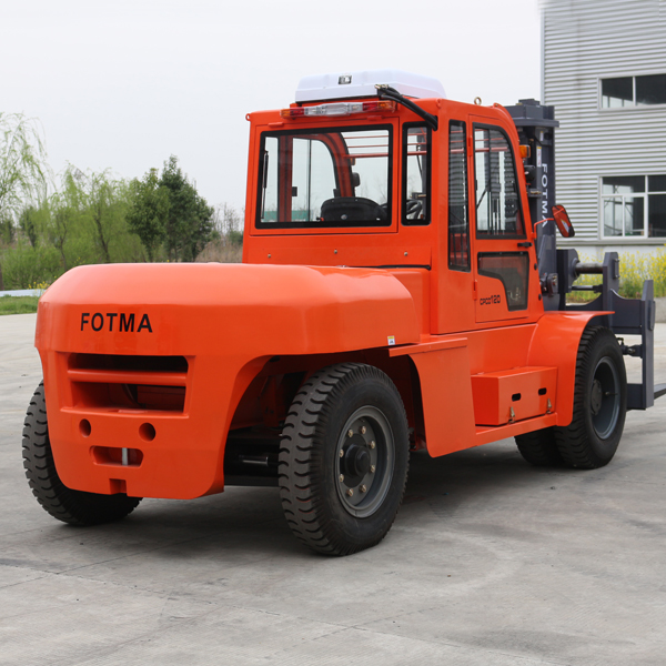 FOTMA exported big forklift truck 12 tons to Sebia