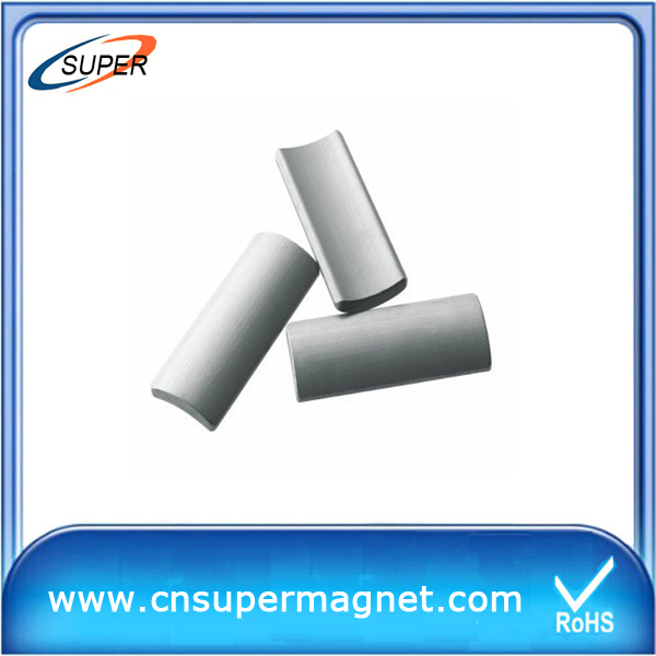 china Y30BH ferrite arc magnet manufacture