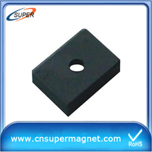 High Quality generator block Ferrite magnet
