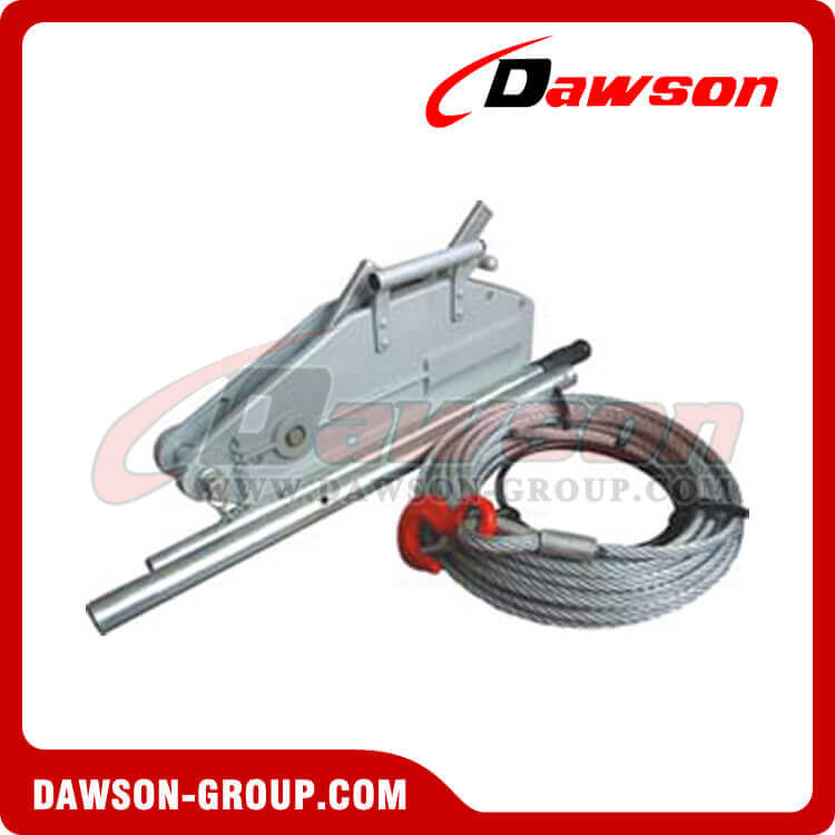 WIRE ROPE PULLING HOIST (ALUMINIUM BODY)
