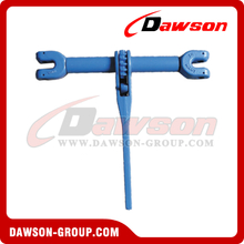 G100 / Grade 100 Clevis Type Ratchet Load Binder Without Link and Hooks for Transport Lashing