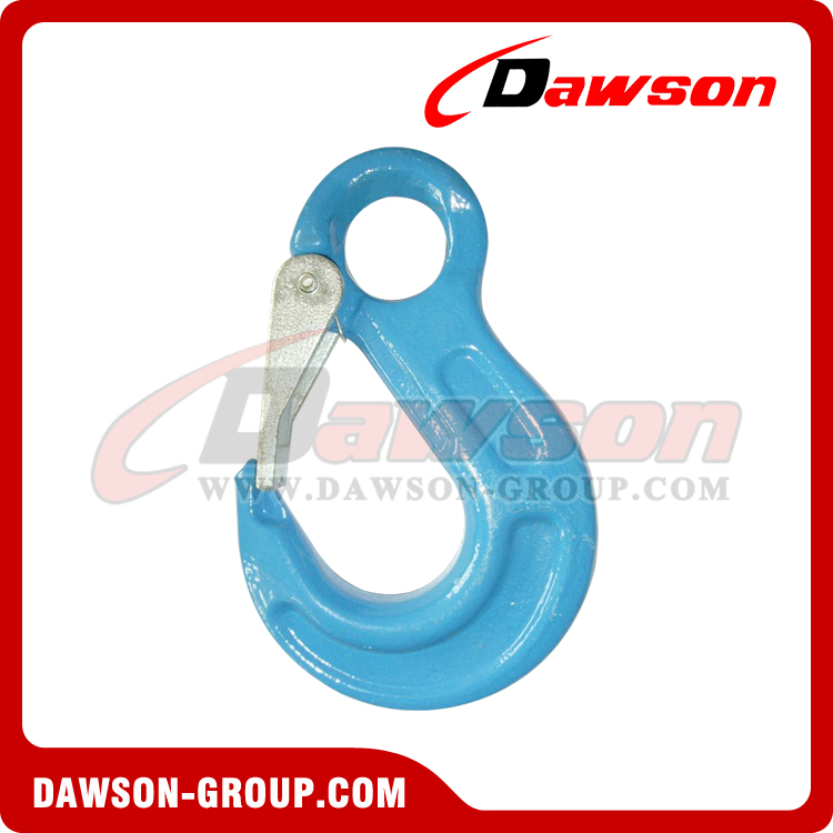 DS1003 G100 Eye Sling Hook with Latch for Chain Slings