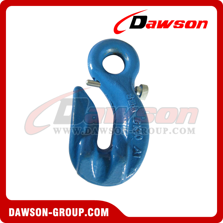 DS1023 G100 Special Eye Grab Hook with Safety Pin - Dawson Group Ltd. - China Manufacturer, Supplier