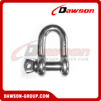 Stainless Steel US type Chain shackle AISI 304 - AISI 316