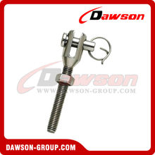 Stainless Steel Jaw Terminal With Screw