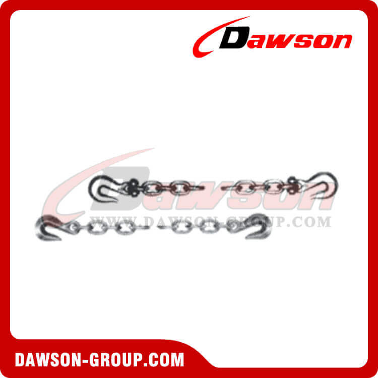 CHAIN WITH CLEVIS EYE GRAB HOOKS ON BOTH END(GRADE70)