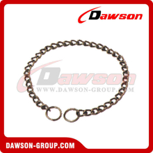 Choke Chain Chrome Plated Animal Chain