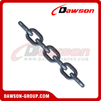 Grade 100 High Level Strength Lifting Round Alloy Load Chain for Hoist