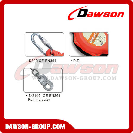 DSHD-10N Retractable Lifeline - China Factory