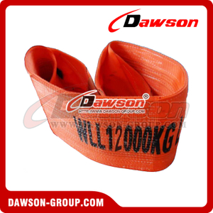 WLL 12 Ton Polyester Webbing Slings - Lifting Slings AS 1353