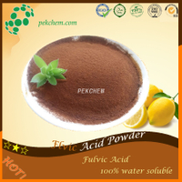 Fulvic acid powder nutrient