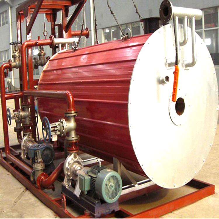 Natural Gas and Deissel Dual Fuel Fired Thermal Oil Boiler with Italy Burner