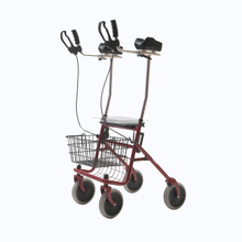 YJ-4200E Multi-Functional Steel Rollator with Elbow mechanism