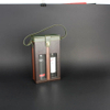 Wine Box Manufacturer Black Leather PE Window wine tote bag wholesale