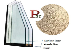 hollow glass molecular sieve