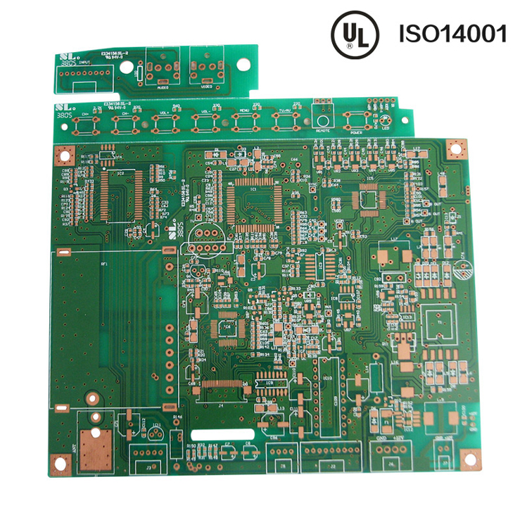1.6mm double-edged Immersion Gold PCB 1.5OZ