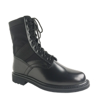 Classic design black military jungle boots
