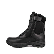 Kenya youth military tactical boots with zipper 4250