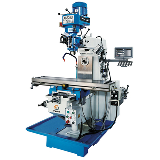 X6325U 50''x10'' Universal Milling Machine with 3 Axis DRO