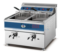 HGF-780 2017 new arrival 2- tank 2-basket electric fryer