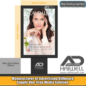 Outdoor Digital Scrolling LED Light Box